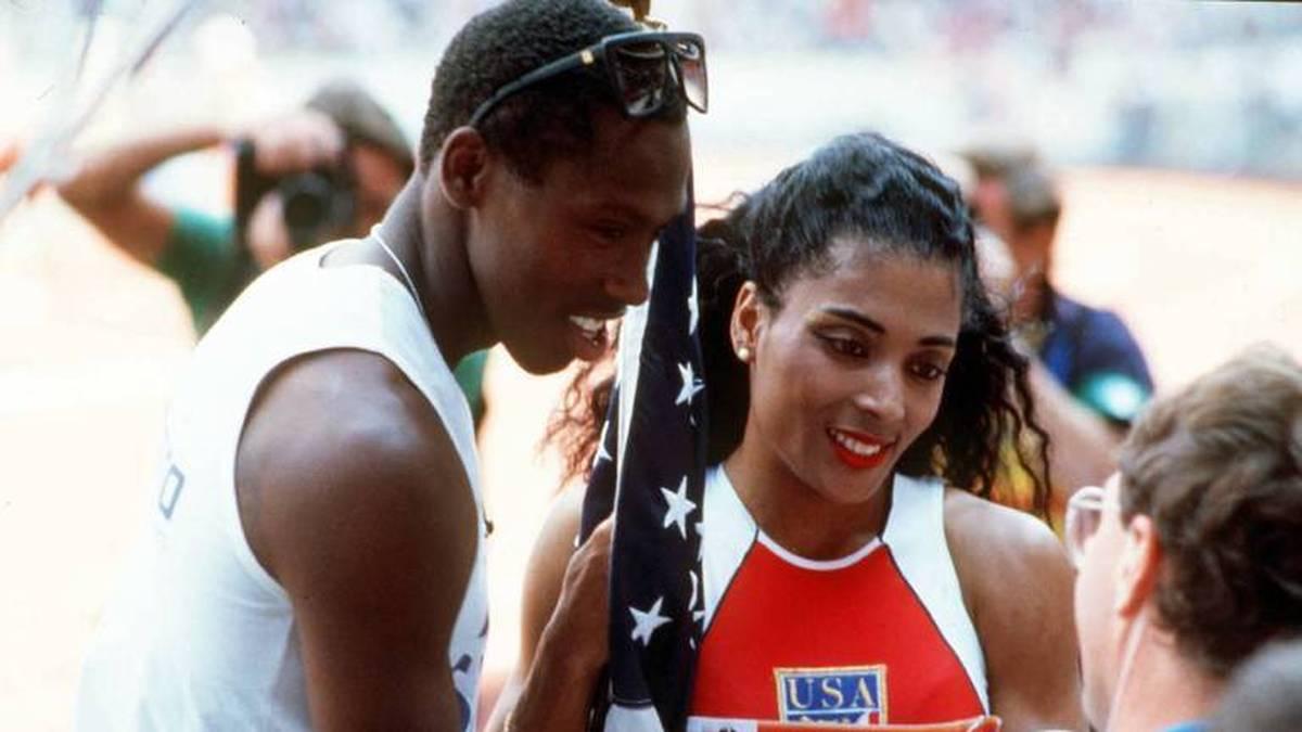 Ehemann Al Joyner gewann 1984 Olympia-Gold im Dreisprung