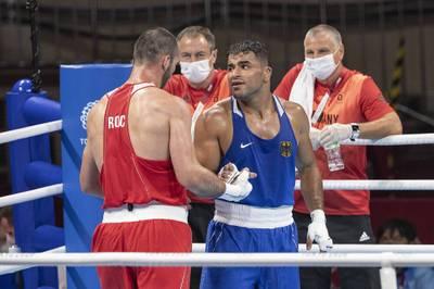 Ammar Riad Abduljabbar kämpfte bei Olympia im Boxen für Deutschland. Jetzt sollen seine Mutter und sein Bruder abgeschoben werden - und er gibt ein emotionales Versprechen.
