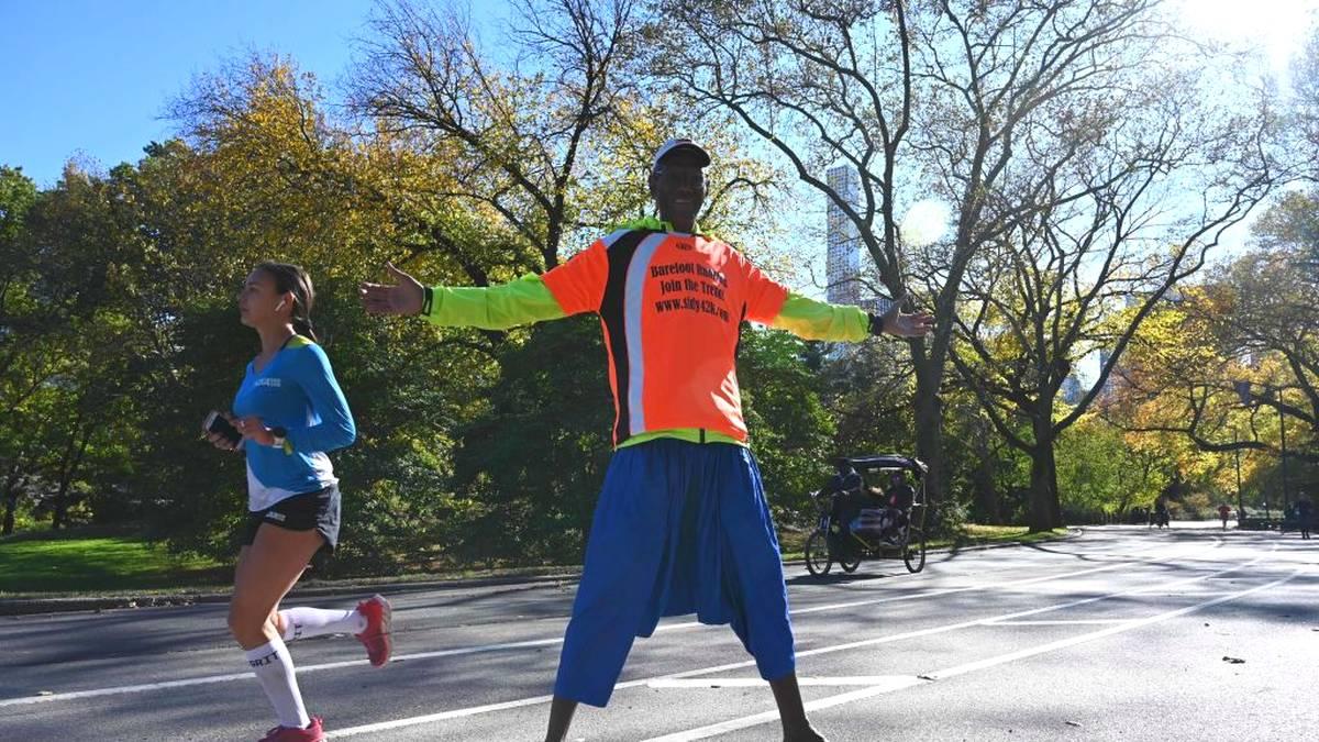Teilnehmer beim New-York-Marathon