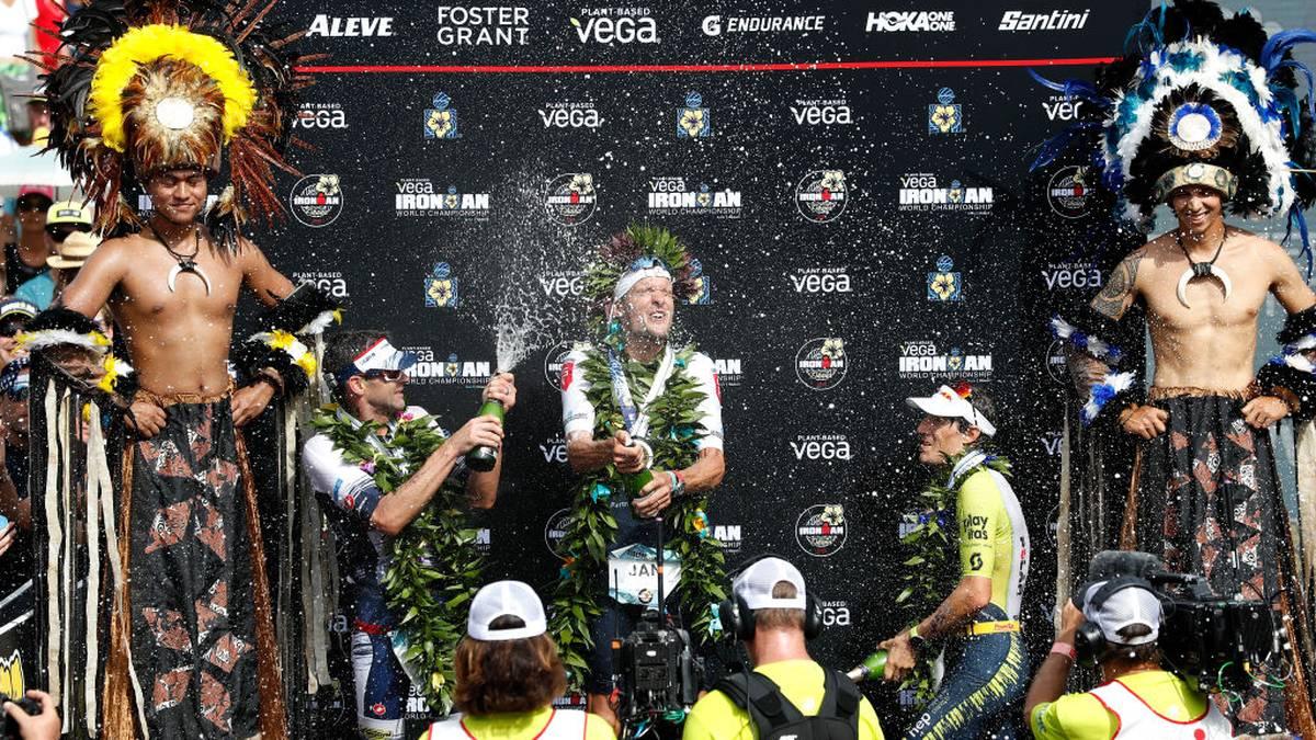 Jan Frodeno hat zum dritten Mal den Ironman auf Hawaii gewonnen