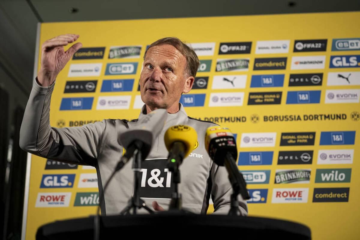 Zu Beginn der 2000er Jahre ist Borussia Dortmund in ernster Gefahr. Nun verrät BVB-Boss Hans-Joachim Watzke, dass er den Klub nur durch einen Zufall retten konnte.
