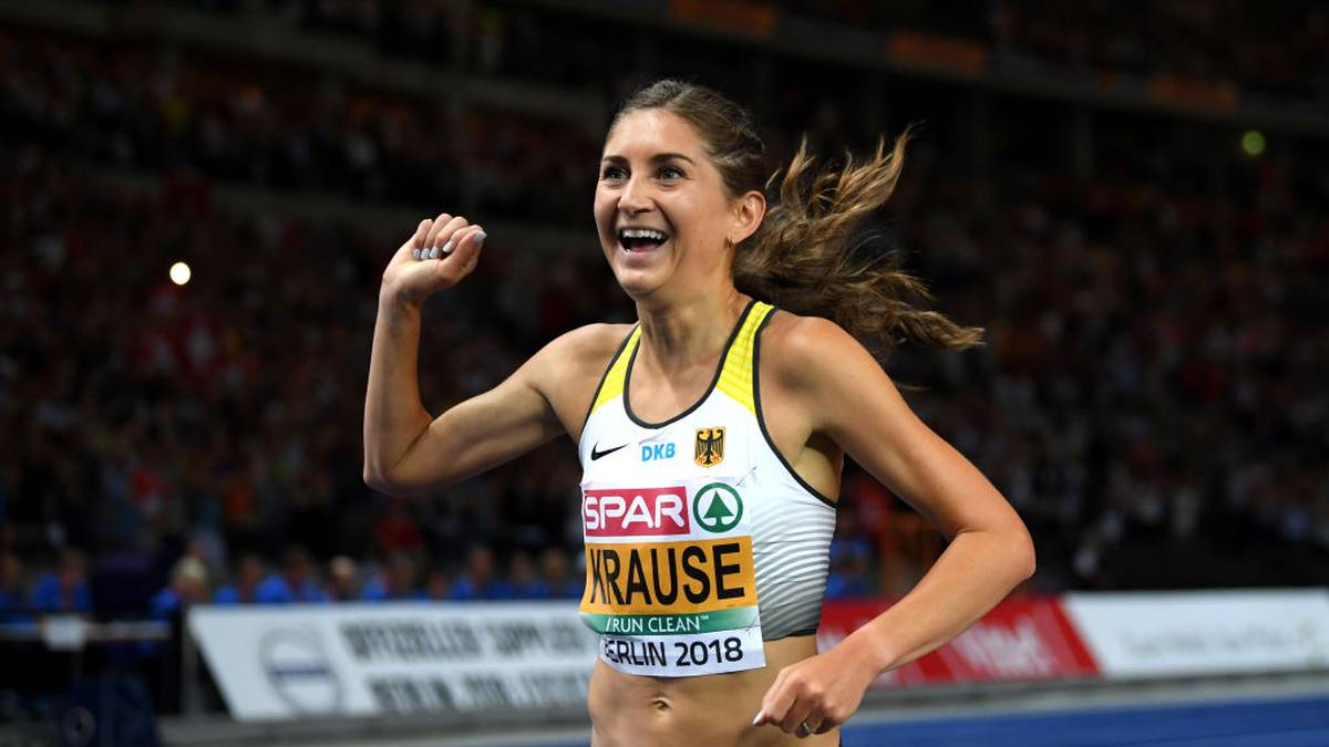 Gesa Felicitas Krause kann ihren EM-Titel in diesem Jahr nicht verteidigen