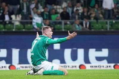 Im Nordderby zwischen Werder Bremen und dem Hamburger SV geht es ordentlich zur Sache. Das aberkannte Ausgleichstor von Werder sorgt für Diskussionen.