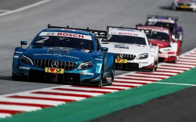 Die Mercedes-Piloten haben die besseren Chancen auf den DTM-Titel 2018