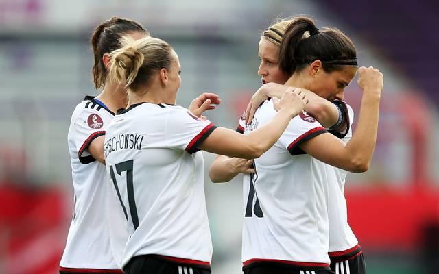 Germany v Croatia  - UEFA Women's Euro 2017 Qualifier
