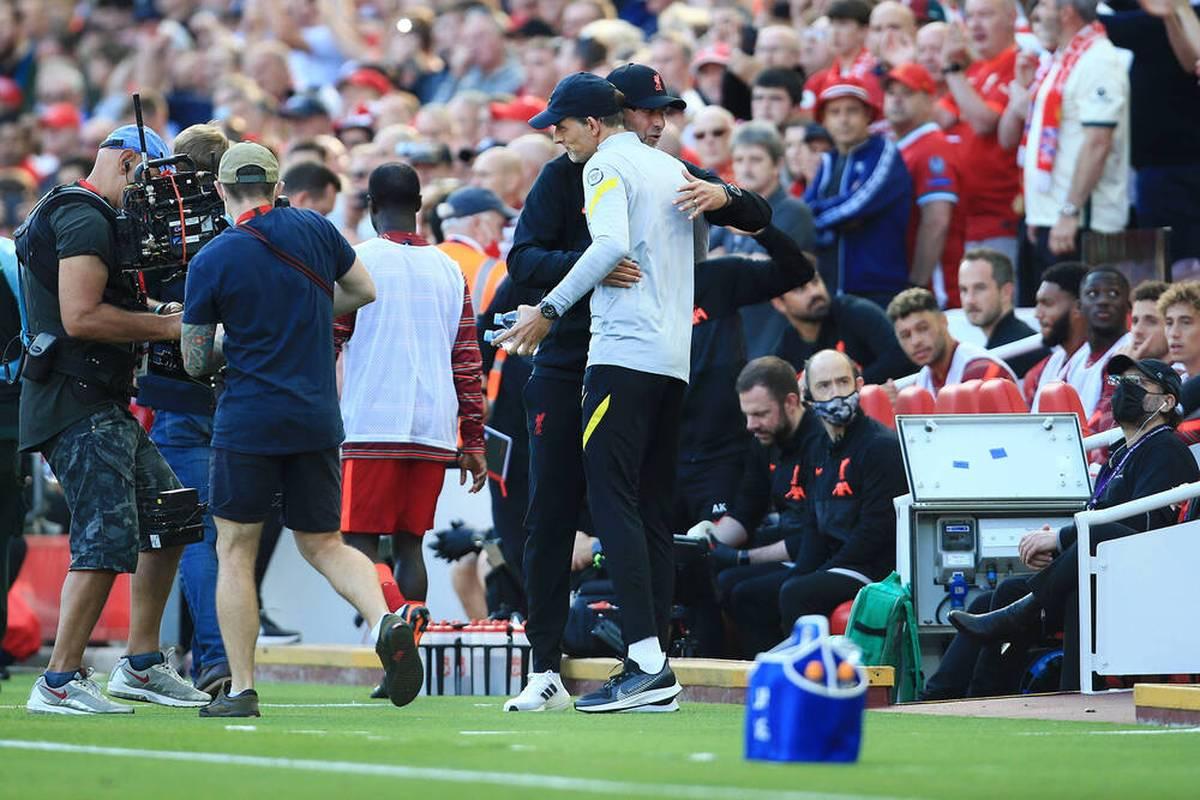 Thomas Tuchel und Jürgen Klopp stehen mit dem FC Chelsea und dem FC Liverpool nach fünf Spieltagen an der Spitze der Premier League. Eine kuriose Gemeinsamkeit überrascht.