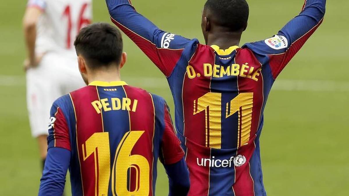 Der FC Barcelona hat sich vorübergehend auf den zweiten Tabellenplatz verbessert. Barca setzt seine Aufholjagd in der Primera Division fort.