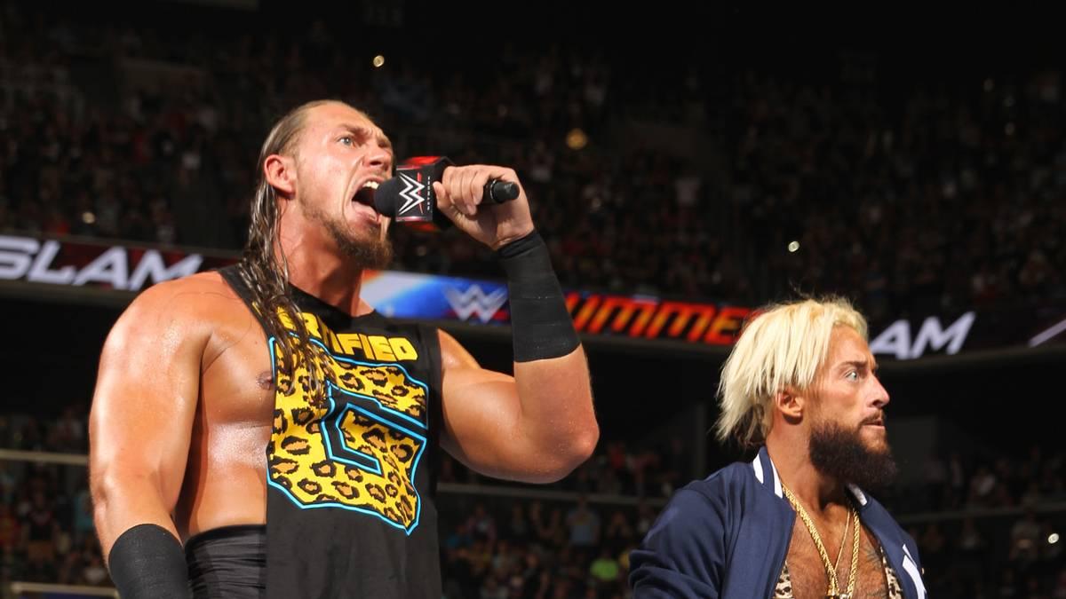 Fünf Monate nach Ex-Partner Enzo Amore (r.) wurde nun auch Big Cass von WWE entlassen