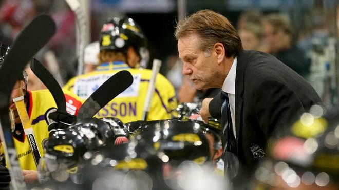 Krefelds Trainer Rick Adduono setzt weiter auf die Dienste von Mike Mieszkowski