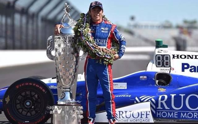 Das Thema Rücktritt ist für Indy-500-Sieger Takuma Sato in weite Ferne gerückt
