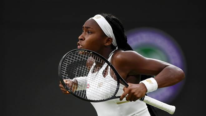 Cori Gauff gilt als das größte Talent im Damen-Tennis