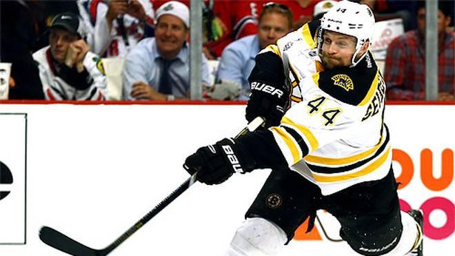 Verteidiger Dennis Seidenberg wechselte 2010 zu den Boston Bruins