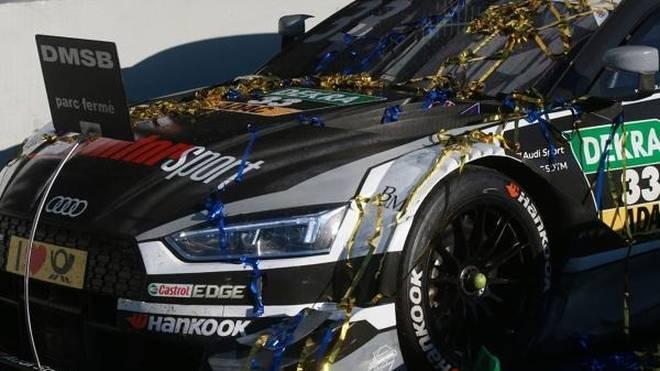 Rene Rast hat sich 2017 im Audi-Vierkampf um den DTM-Titel durchgesetzt