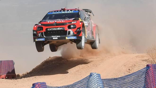 Rallye Sardinien: Sebastien Ogier fällt nach Unfall zurück , Weltmeister Sebastien Ogier droht der Verlust der WM-Führung