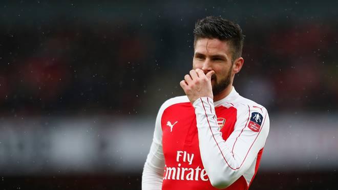 Olivier Giroud muss mit dem FC Arsenal zum Wiederholungsspiel antreten