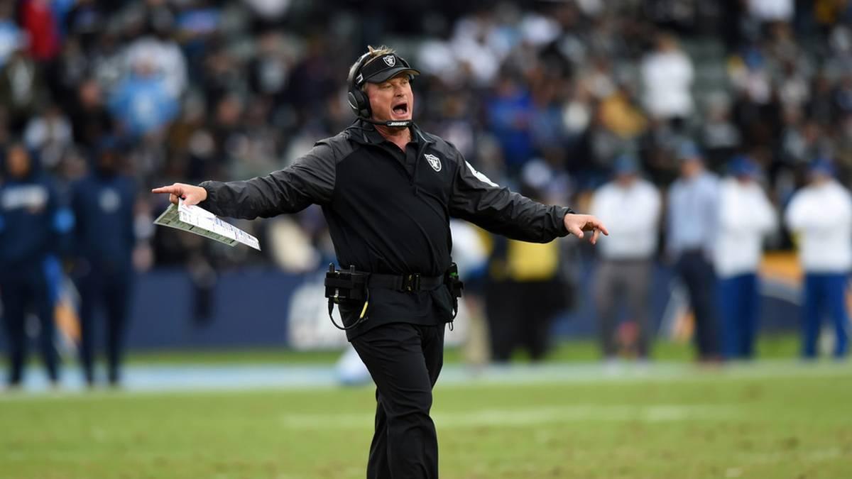 Seit seiner Rückkehr 2018 zu den Raiders konnte Jun Gruden noch nicht die Playoffs erreichen