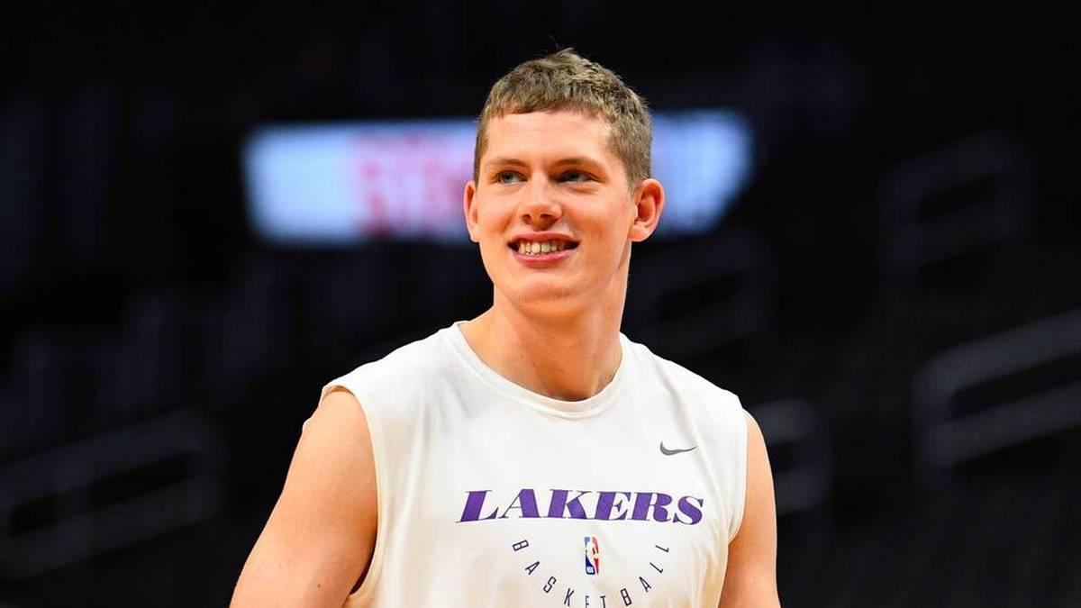 Bei den Los Angeles Lakers startete Moritz Wagner sein Abenteuer NBA