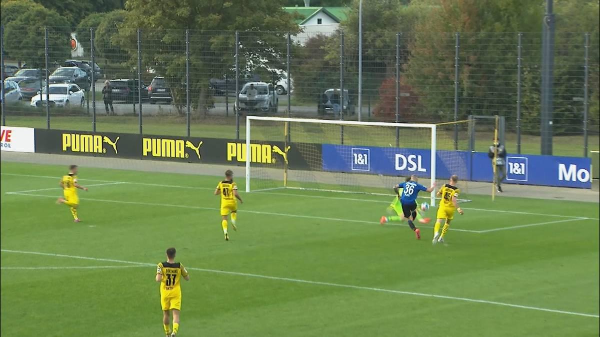 Borussia Dortmund verliert das Testspiel inmitten der aktuellen Länderspielphase gegen den Zweitliga-Dritten SC Paderborn mit 0:3. Dabei schnürt ein Ex-Schalker einen Doppelpack.