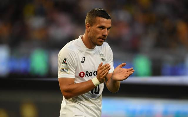 Lukas Podolski spielt bei Vissel Kobe
