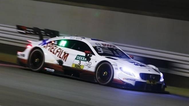 Paul di Resta startet im ersten DTM-Nachtrennen in Misano von der Pole