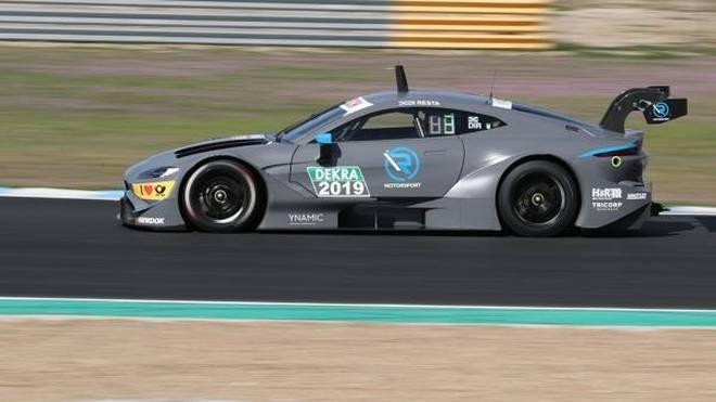 Paul di Resta darf die ersten zwei Testtage mit dem neuen Aston Martin absolvieren