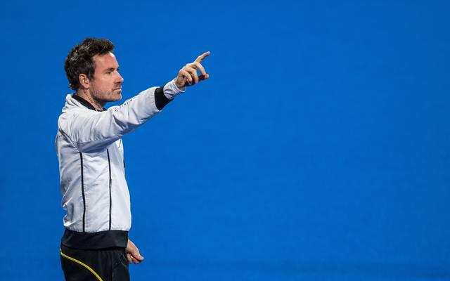 Coach Stefan Kermas war trotz der Pleite mit seinem Team zufrieden