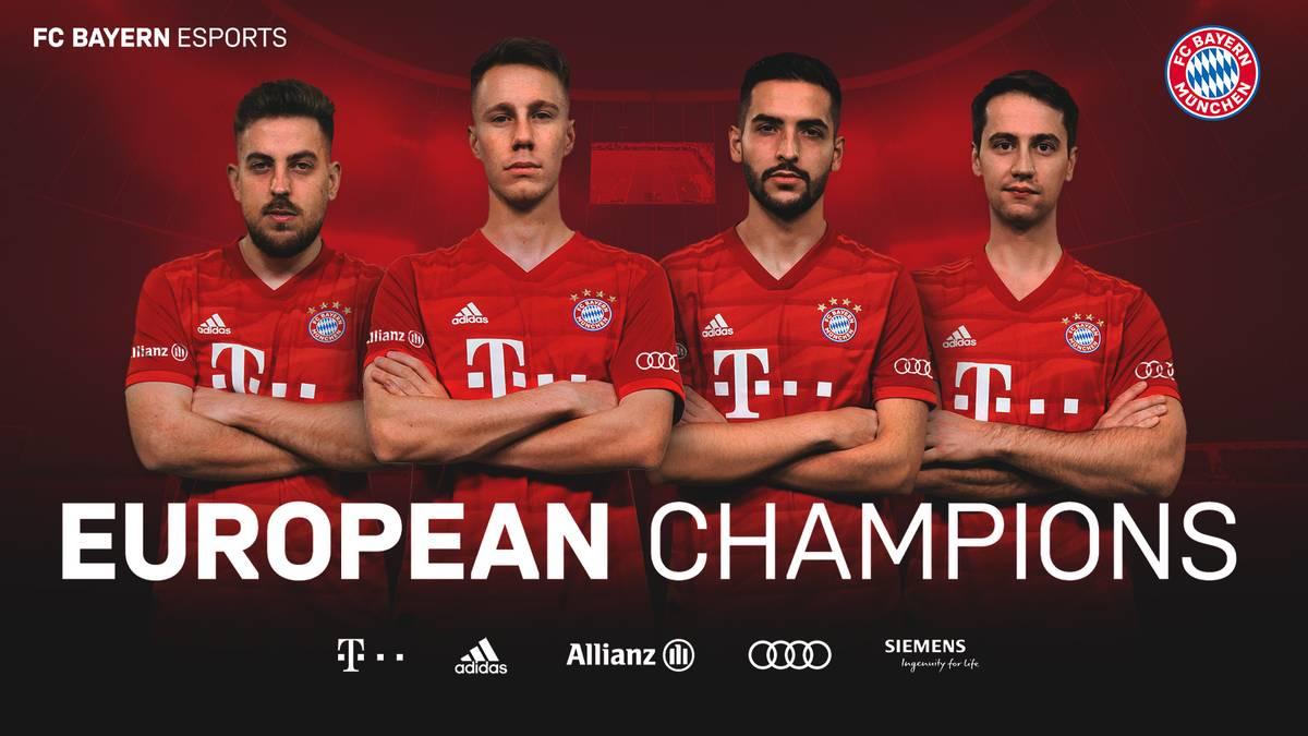 Der FC Bayern München besiegt den FC Barcelona im großen Finale des eFootball.Pro Cup