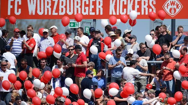 Die Würzburger Kickers müssen gegen Werder Bremen umziehen
