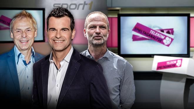 Telekom Spieltaganalyse mit Holger Fach und Olaf Thon