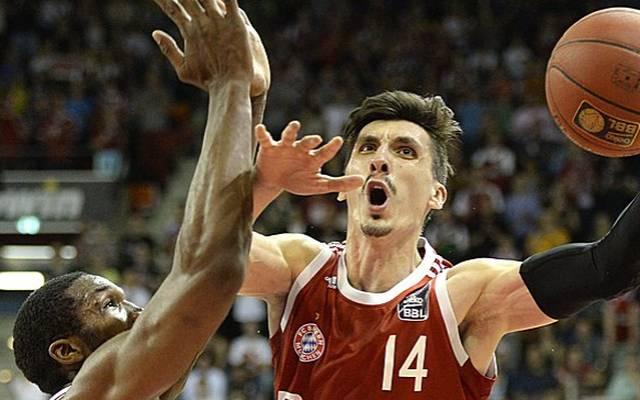 Nihad Djedovic war mit 15 Punkten bester Werfer der Bayern-Basketballer