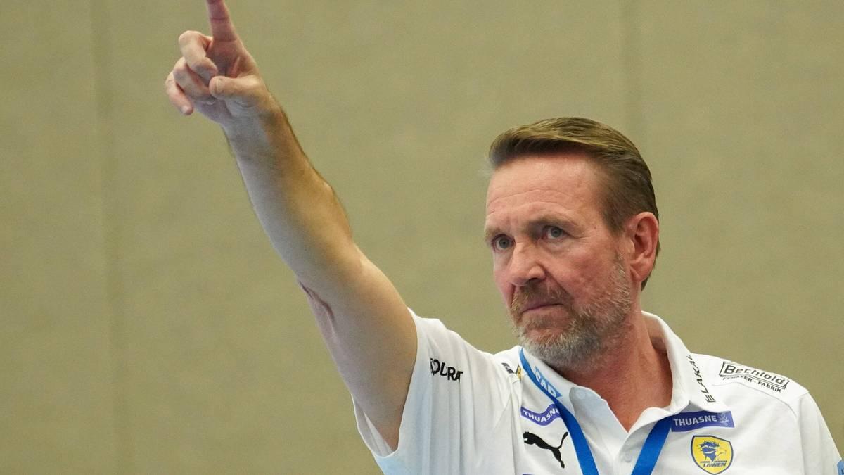 Martin Schwalb gewann sein Debüt als Trainer der Rhein-Neckar Löwen