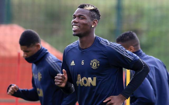 Paul Pogba hat sich mit Jose Mourinho gezofft