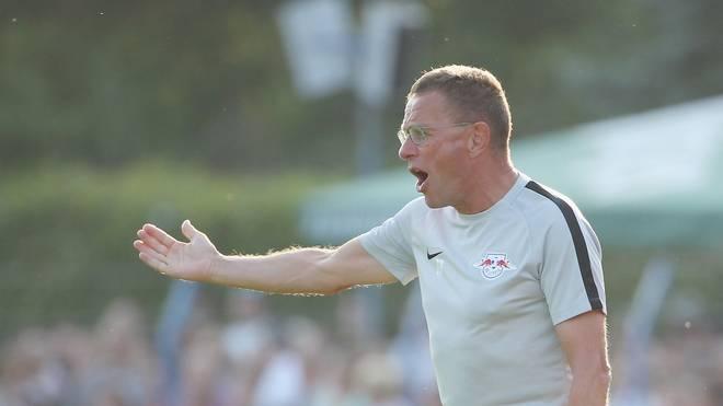 Ralf Rangnick trainiert RB Leipzig übergangsweise für eine Saison
