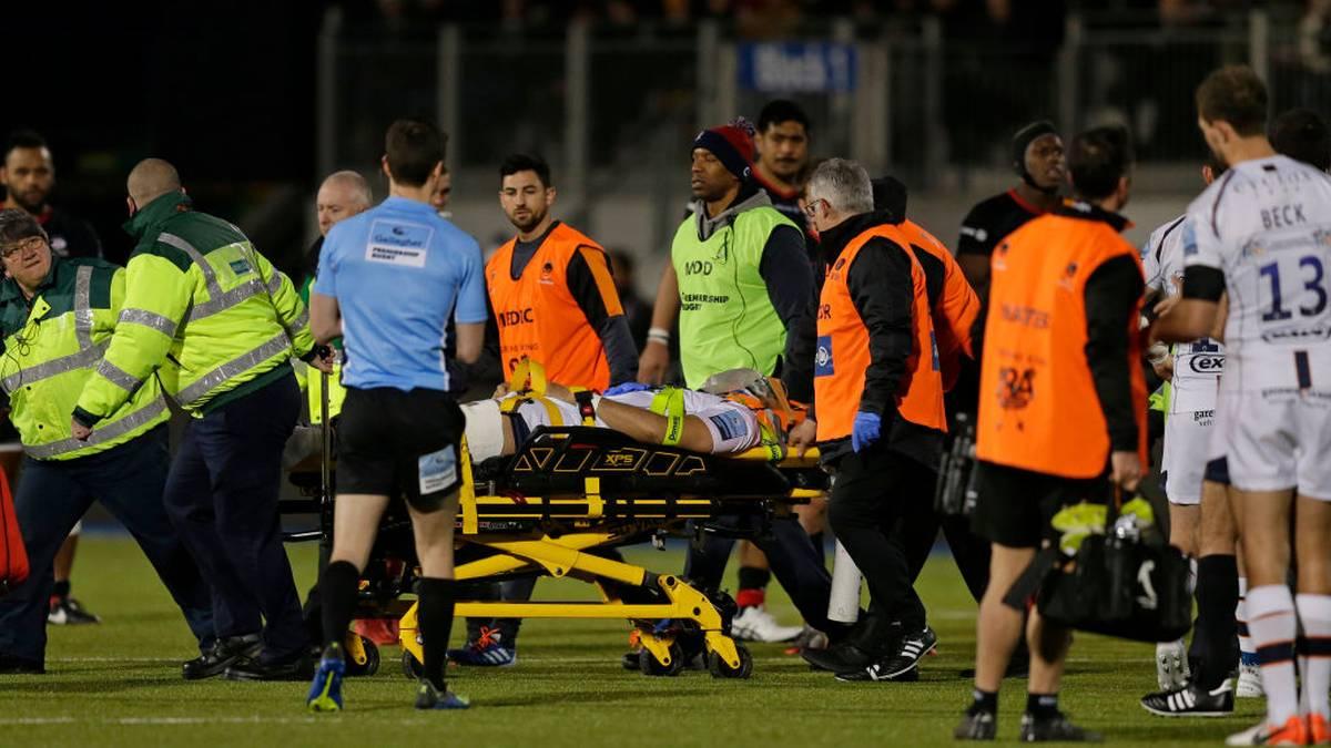 Michael Fatialofa zog sich am 4. Januar schwere Verletzungen zu