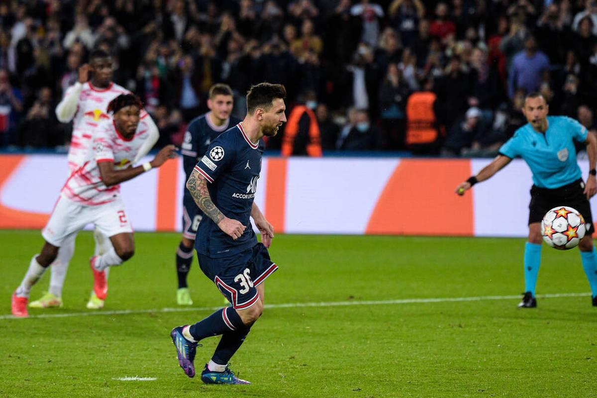 RB Leipzig kassiert bei Paris Saint-Germain die nächste Niederlage. Dem entscheidenden Messi-Tor geht ein fragwürdiger Elfmeter voraus. Auch vor der PSG-Führung kommt es zu einer strittigen Szene.