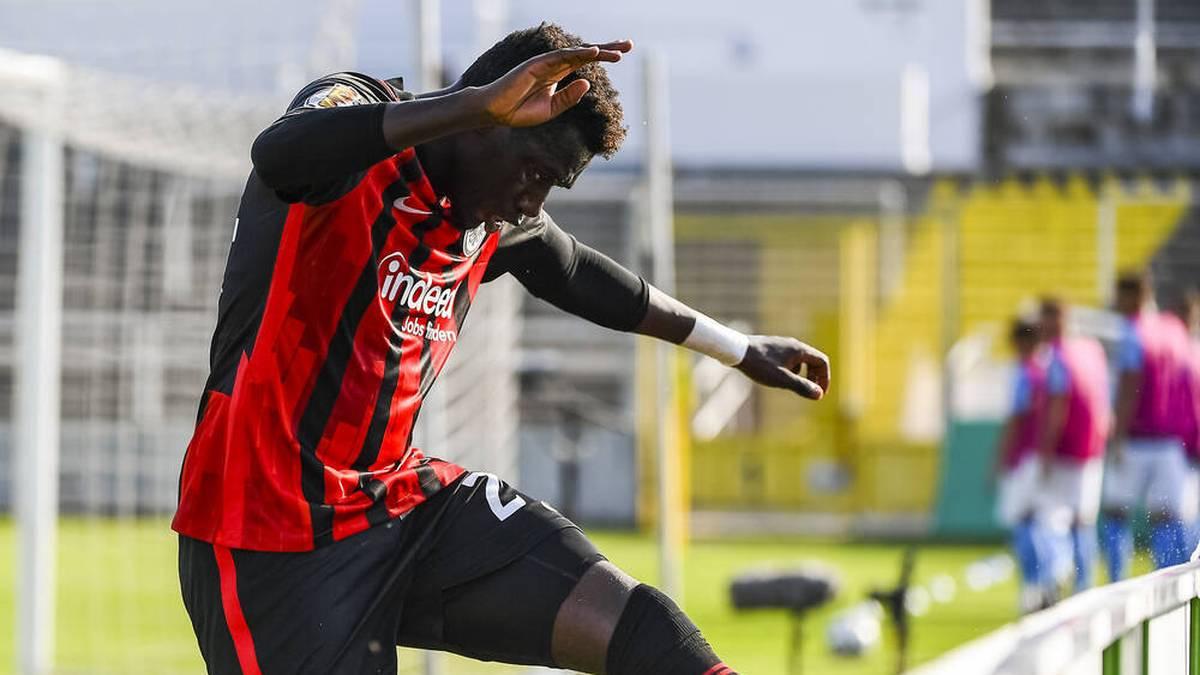 Danny da Costa beim Pokal-Sieg gegen den TSV 1860 München