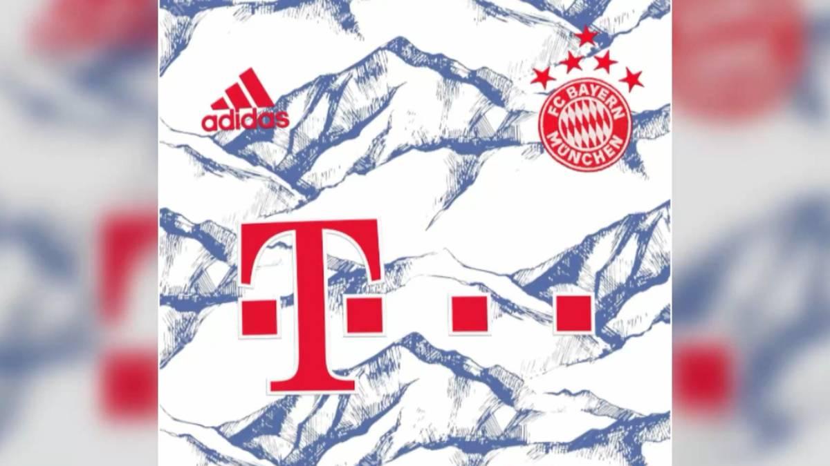 Das neue Ausweichtrikot des FC Bayern überrascht mit einem neuartigen Muster. Laut dem Internetportal Footyheadlines könnten die Bayern-Stars bald mit Alpenmuster auflaufen.