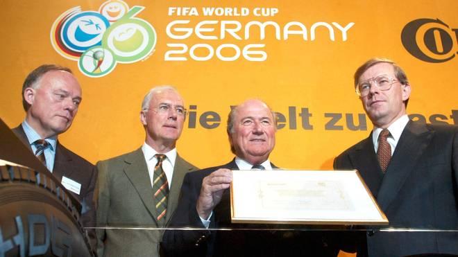 FUSSBALL: PRESSEKONFERENZ zur WM 2006