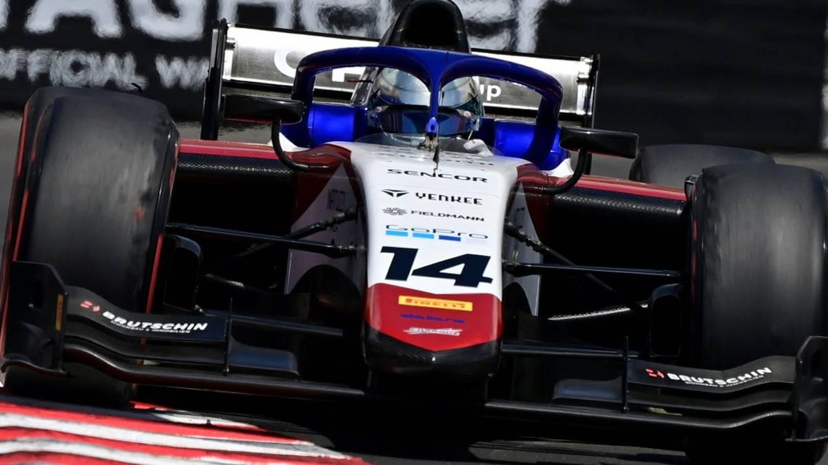 David Beckmann fuhr im ersten Sprintrennen auf Platz zehn