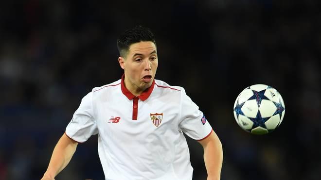 Samir Nasri war zur Zeitpunkt der Behandlung von Manchester City an den FC Sevilla ausgeliehen