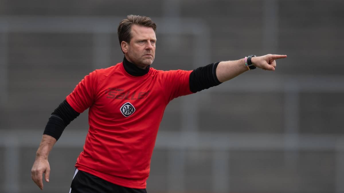 Absteiger Aalen trennt sich von Trainer Schmitt