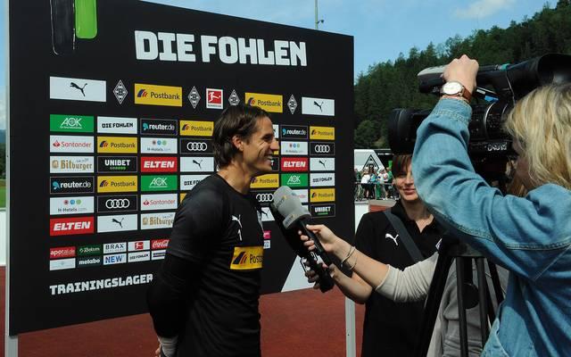 Yann Sommer beim Interview mit SPORT1 im Trainingslager in Rottach-Egern