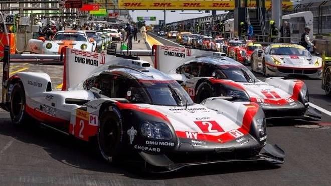 Porsche bestimmte das Geschehen auf dem Nürburgring am Freitag