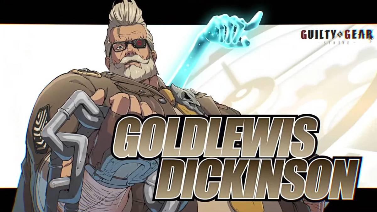 Goldlewis Dickinson, der Verteidigungsminister der USA, wird der erste DLC-Kämpfer