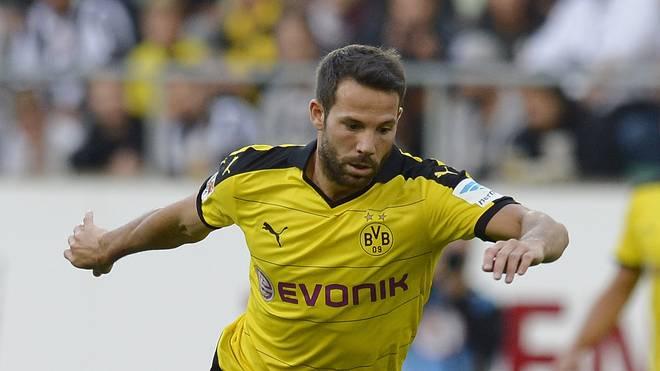 Gonzalo Castro steht in der Startelf von Borussia Dortmund