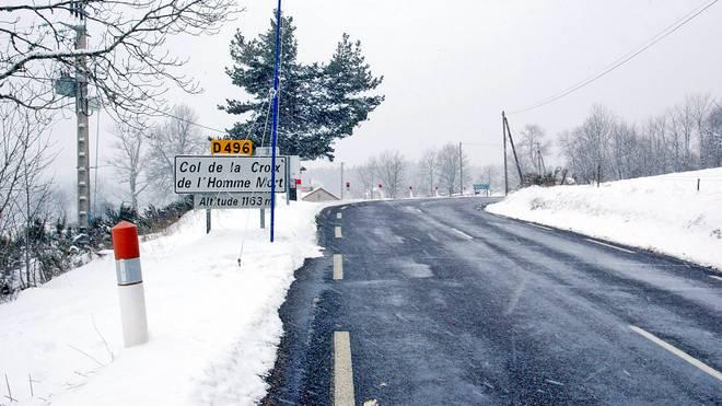 Nicht zum ersten Mal sorgt Schneefall für eine Etappenabsage bei Paris-Nizza
