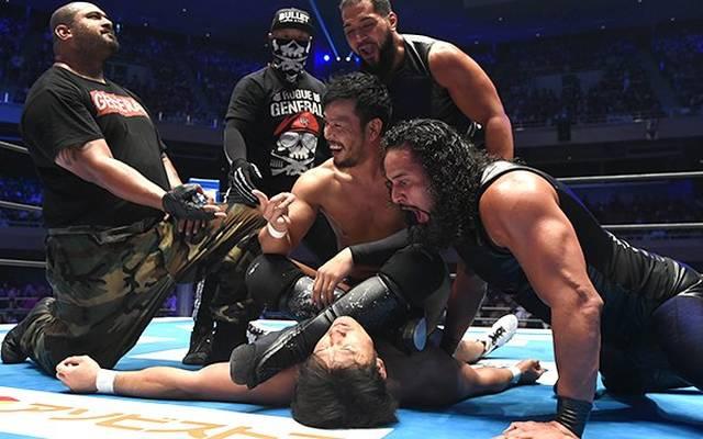Katsuyori Shibata wurde beim G1 Climax von NJPW von KENTA und dem Bullet Club attackiert