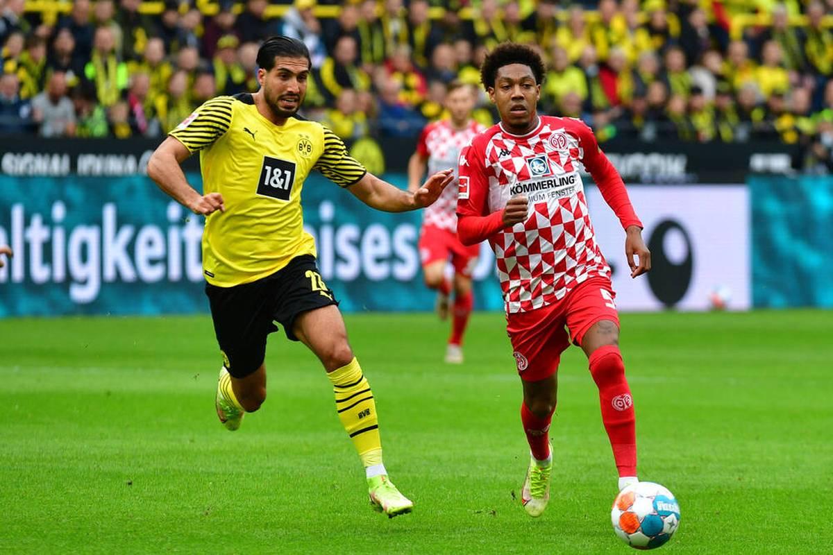 Emre Can steht gegen Mainz das erste Mal seit Monaten in der Startelf des BVB. Er knüpft sofort wieder an alte Leistungen an.