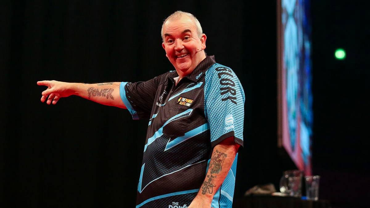 Phil Taylor kehrt auf die große Darts-Bühne zurück