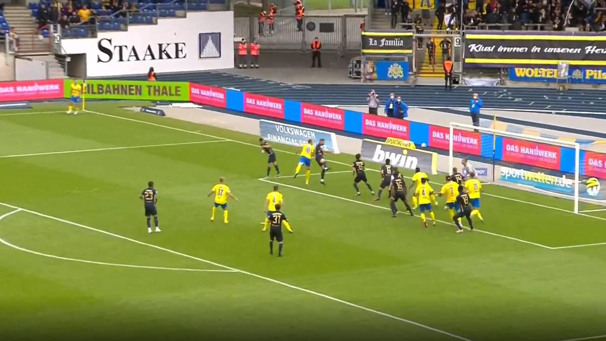 Trotz Fehlentscheidung: Braunschweig holt Unentschieden gegen 1860